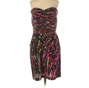 FUN & CUTE Charlie Jade 100% Silk Dress SZ S